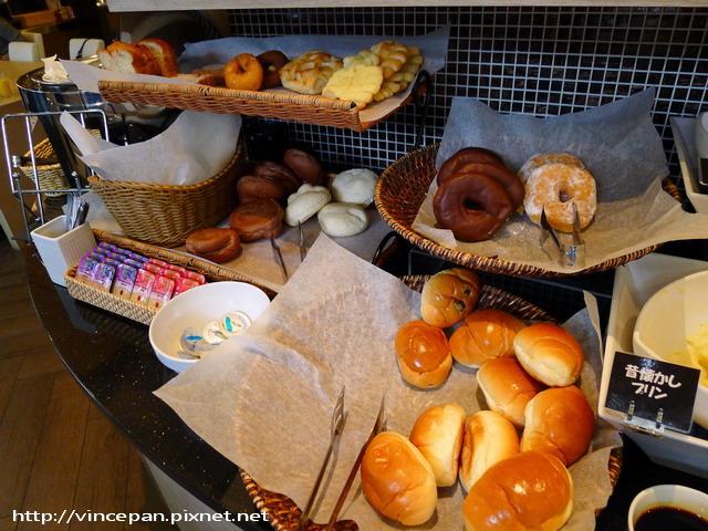 Hotel Active早餐 麵包
