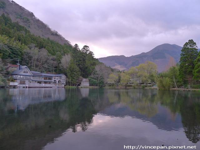 金鱗湖  清晨