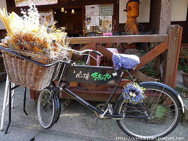 麵包工房 makinoya 單車