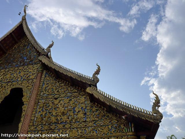 清曼寺 屋簷
