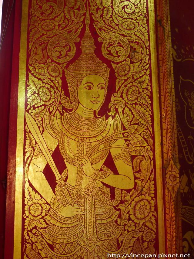 清曼寺  大門畫像