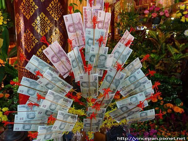 清曼寺  香油錢
