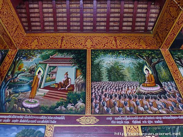 清曼寺 佛陀壁畫