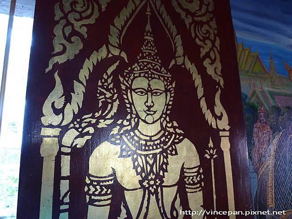 清曼寺 窗戶畫像