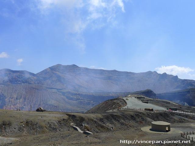 阿蘇火山口 2