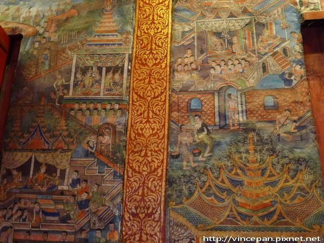 帕邢寺  萊卡佛堂 壁畫