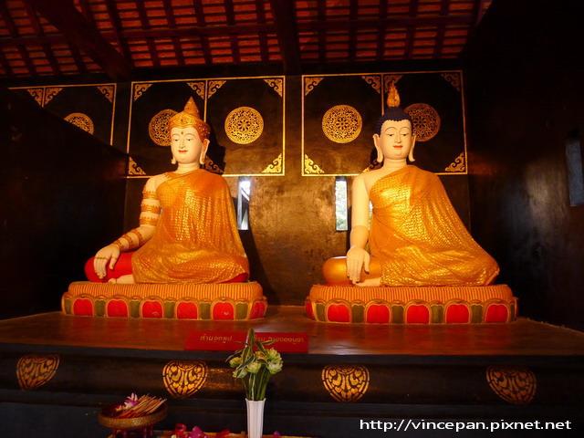 柴迪隆寺  佛像