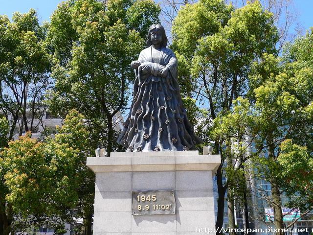 原爆落下中心地公園 母子雕像