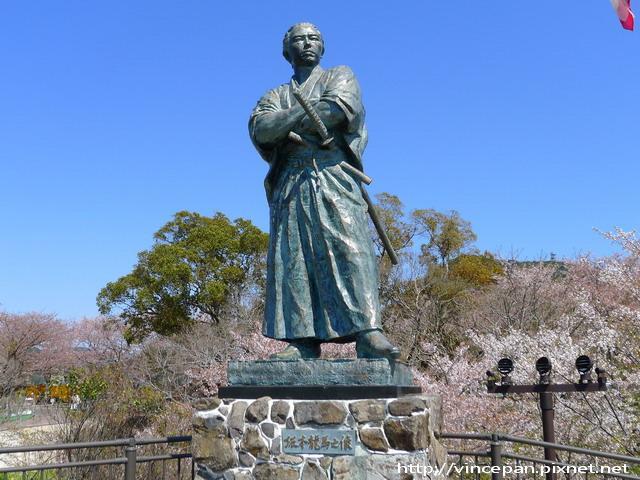 風頭山的龍馬銅像1