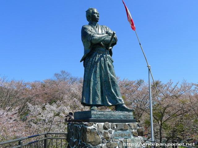風頭山的龍馬銅像3