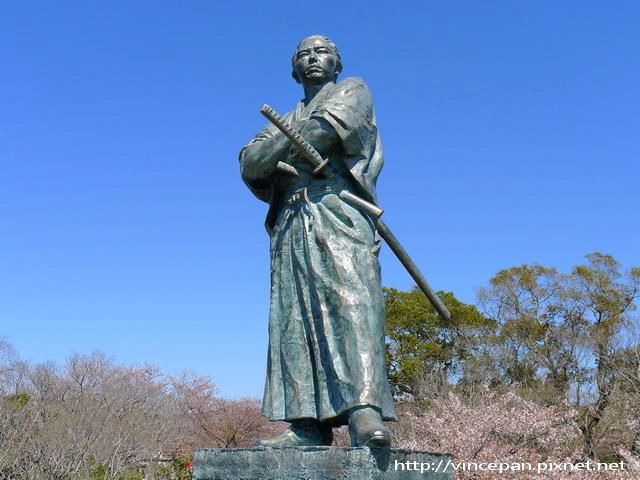 風頭山的龍馬銅像4