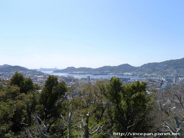 風頭山遠眺長崎港