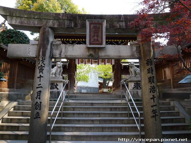 櫛田神社側門