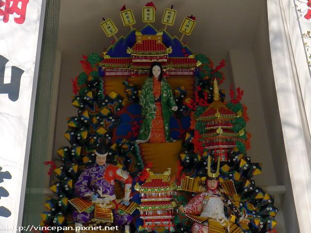 山笠 人形