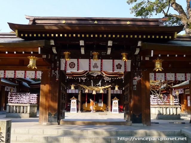 神社拜殿入口