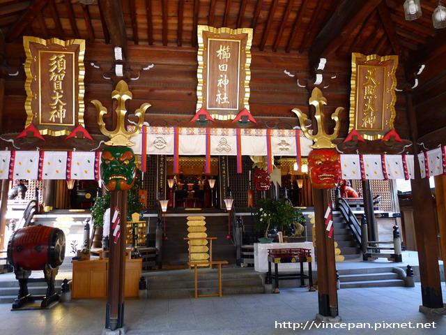 神社的正殿