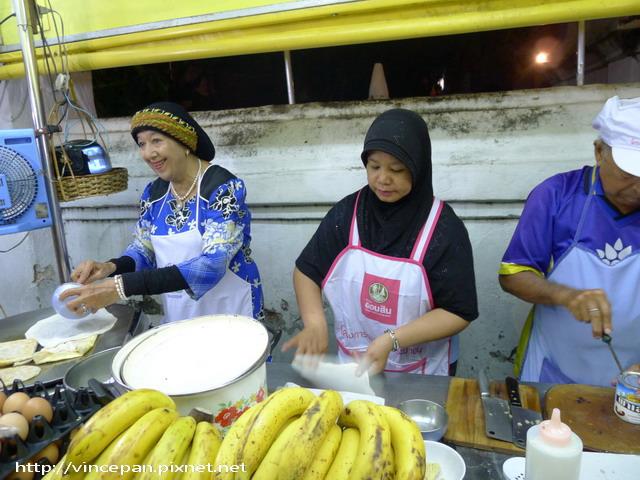 香蕉煎餅 老闆
