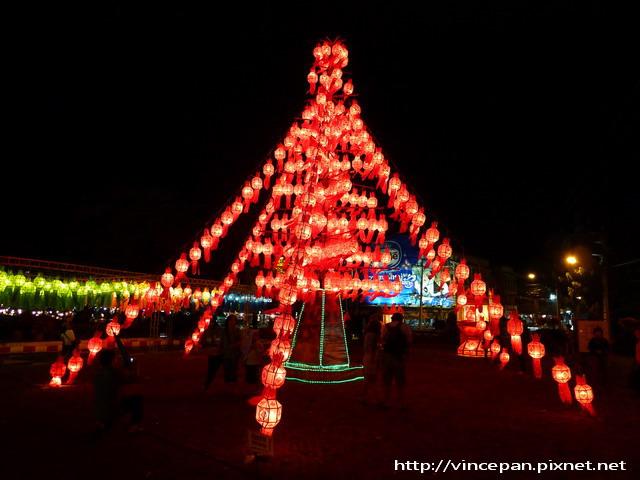 昌普克門燈飾晚上1