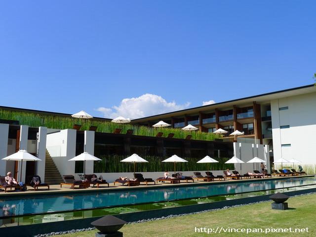 The Chedi 泳池2