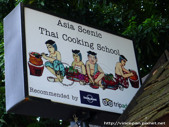 Asia Scenic Thai Cooking School招牌