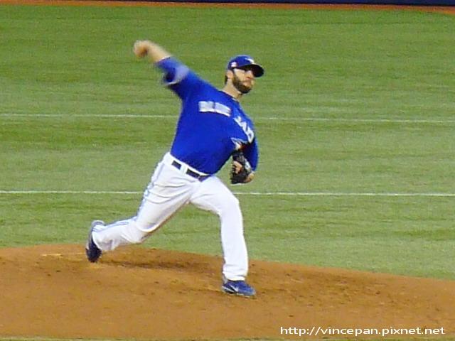 投手Brandon Morrow
