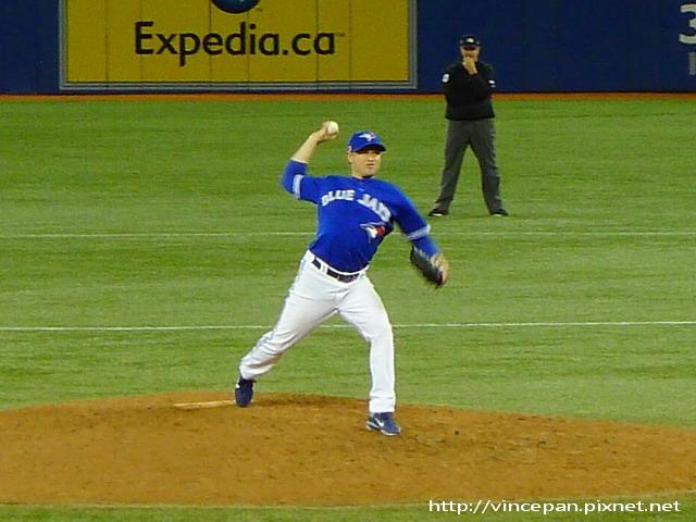 投手Jason Frasor