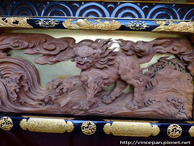 鳳凰台 獅子雕刻 2
