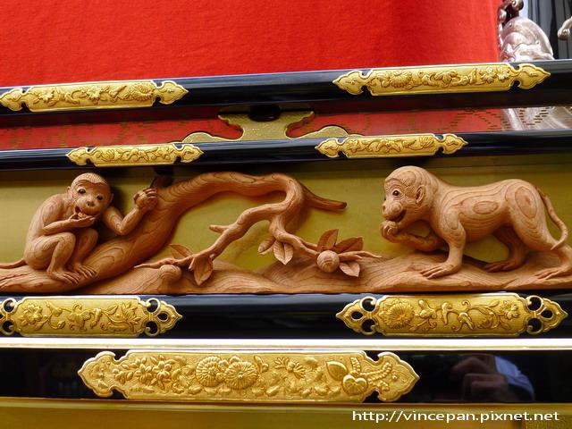 豐明台 猴子雕刻