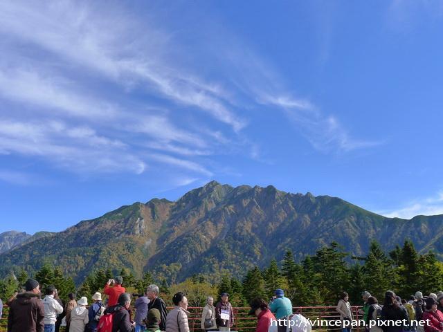 西穗高岳 遊客