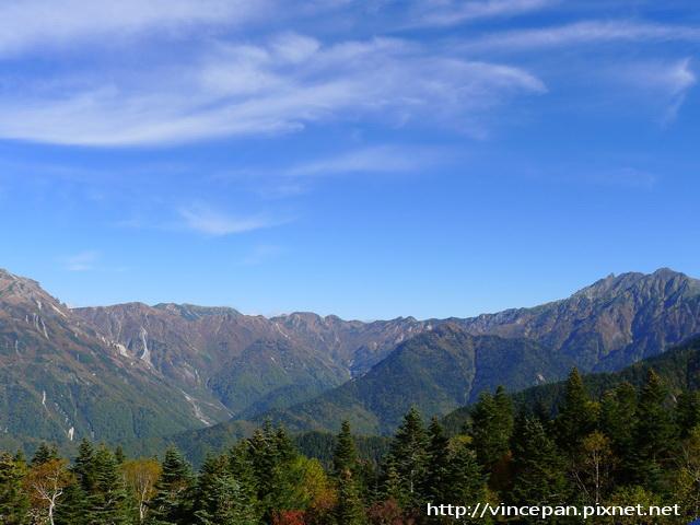 日本阿爾卑斯山脈