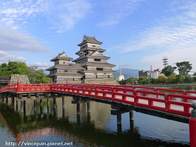 埋橋 松本城3