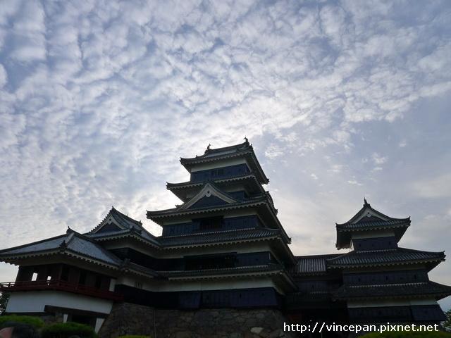 松本城 天空