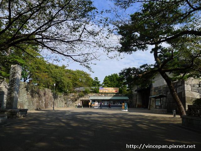名古屋城的正門