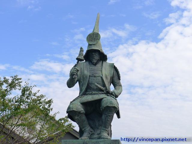 加藤清正 雕像