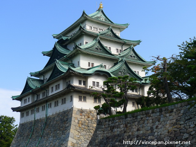 名古屋城 側面1