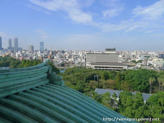 眺望名古屋市區
