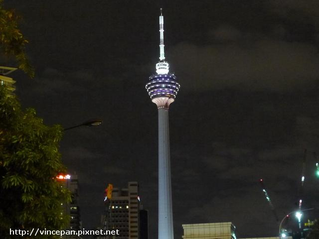 吉隆坡塔夜景