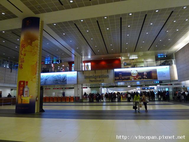 新加坡樟宜機場 海關1