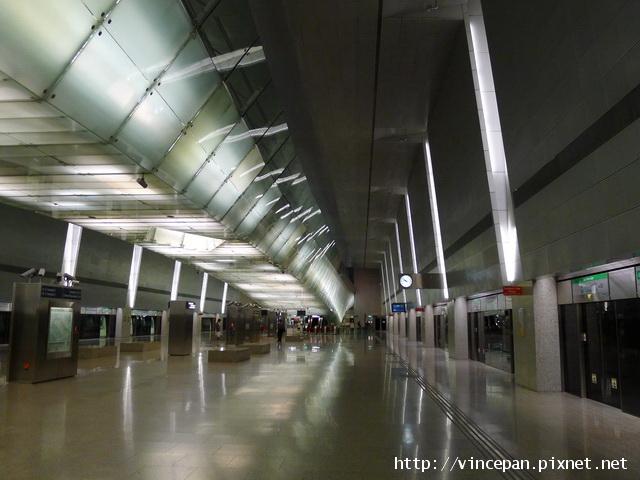 樟宜機場 地鐵月台