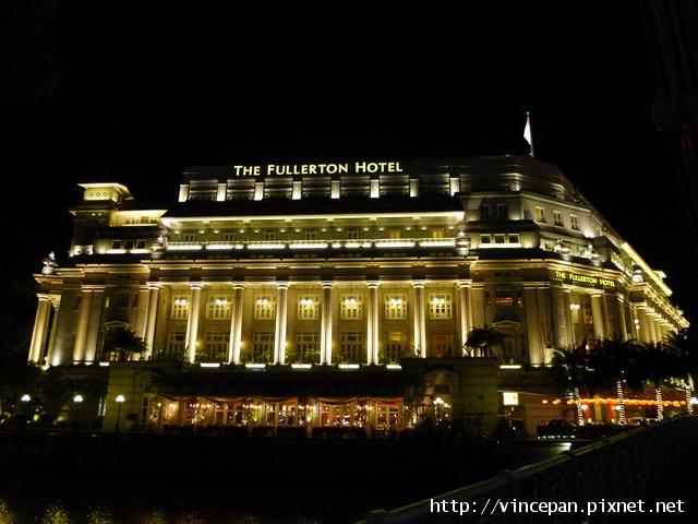 浮爾頓酒店 夜景
