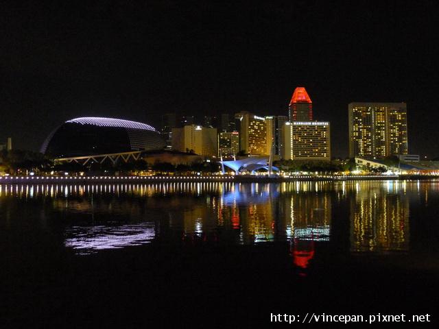 濱海藝術中心 與文華酒店 夜景