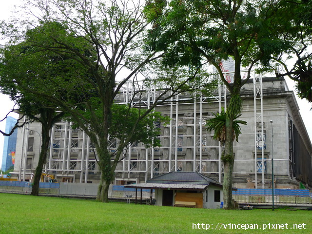 政府大廈 整修
