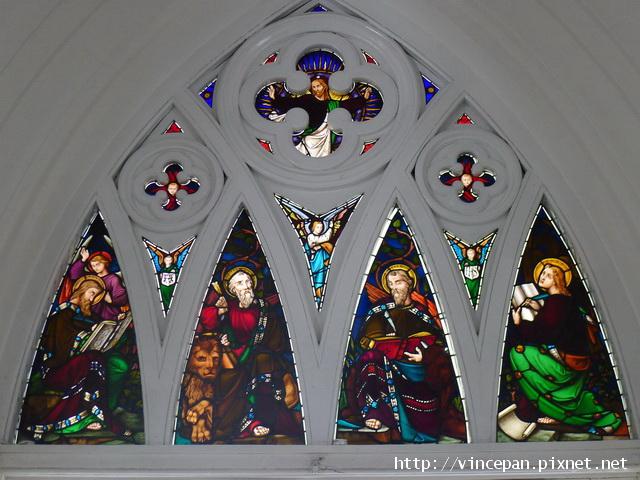 聖安德烈教堂耶穌與聖哲的彩繪