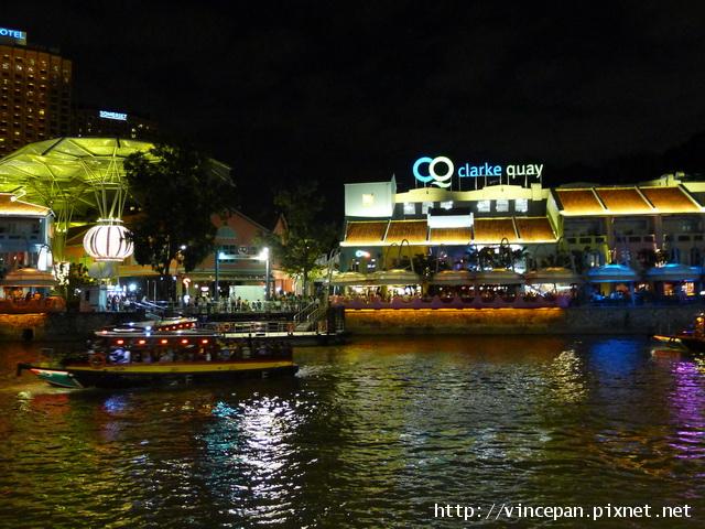 克拉碼頭 夜景 遊船
