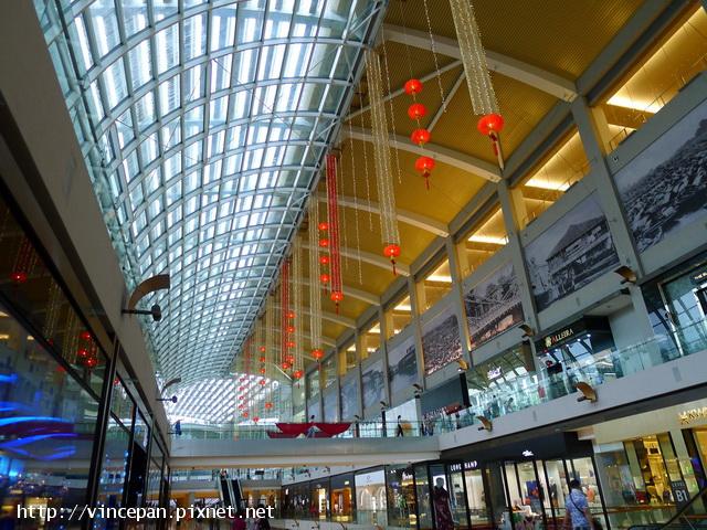 購物中心 長廊2