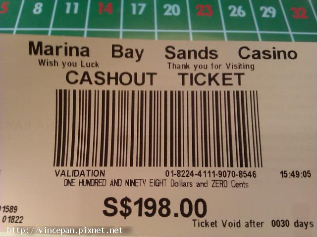 賭場Cashout