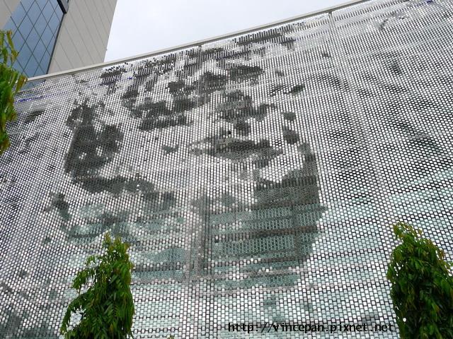 金沙酒店金屬片裝飾