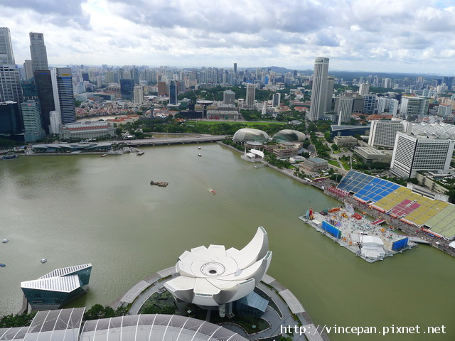新加坡海灣區風景