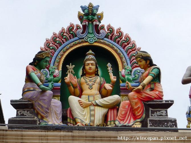 馬里安曼興都廟 神像