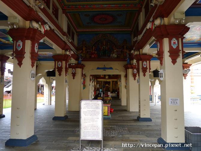 馬里安曼興都廟 神殿